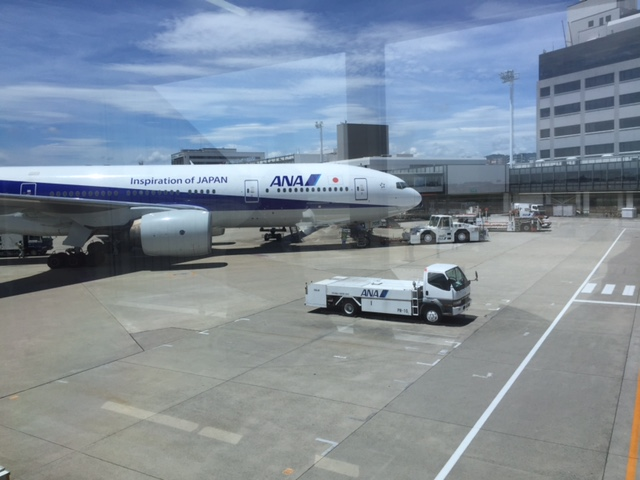 大阪到着!